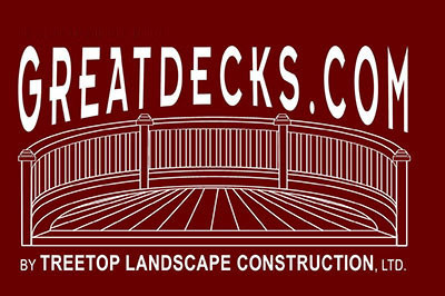 Trex Composite, Deck And Porch Building - Treetop Landscape Construction Ltd - Poughkeepsie, Ny